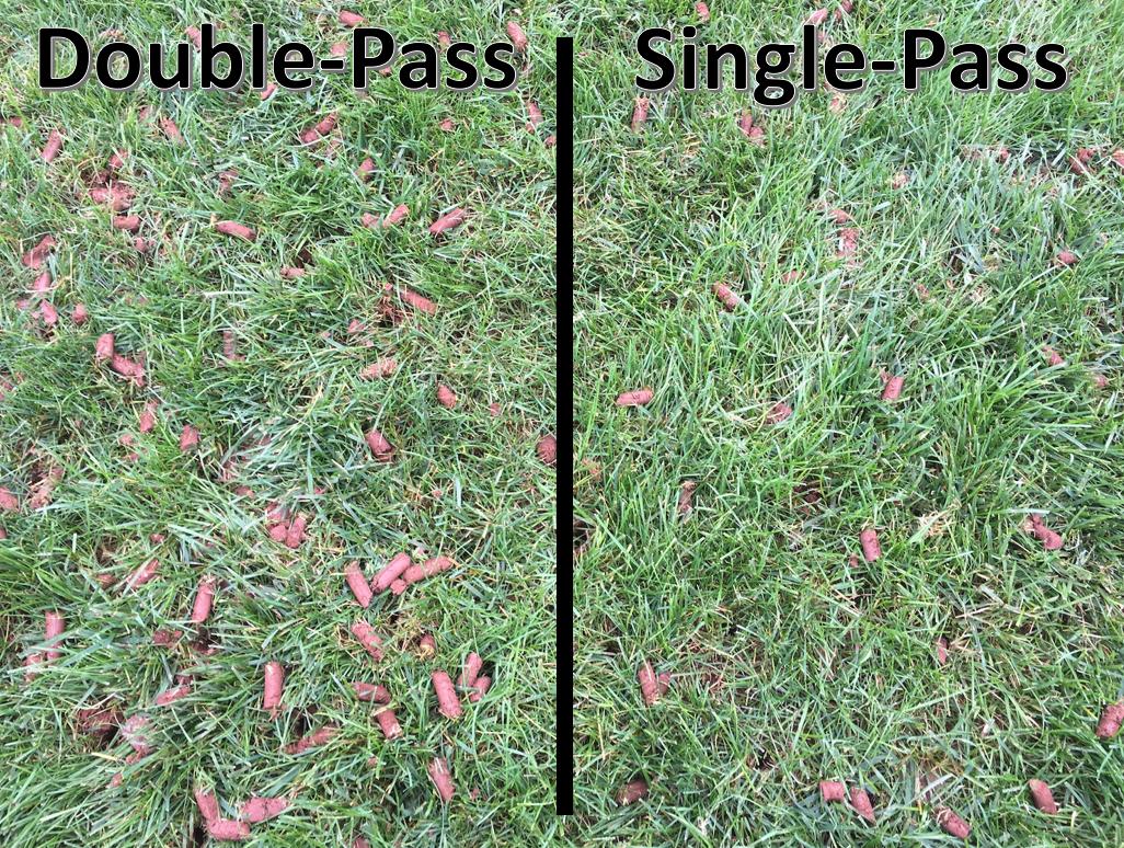 Double vs Single Pass Aeration