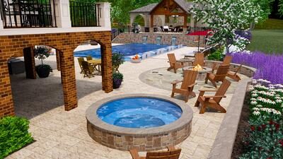 3D pool design ashburn aldie leesburg va