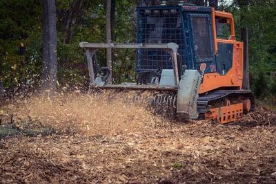 Forestry mulching in Aldie, Leesburg, and Middleburg, VA