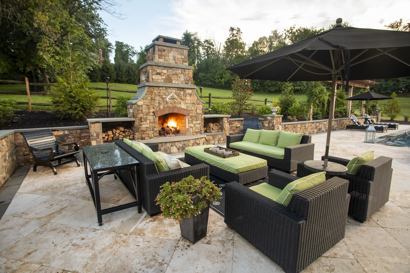Fire Pits Outdoor Fireplaces 5 Tips For Your Patio Or Landscape Design In Northern Va