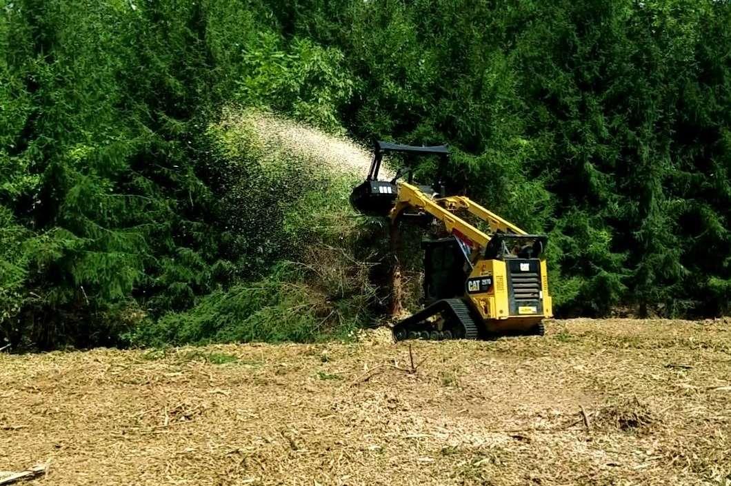 Forestry mulching Aldie, Leesburg, Middleburg, VA