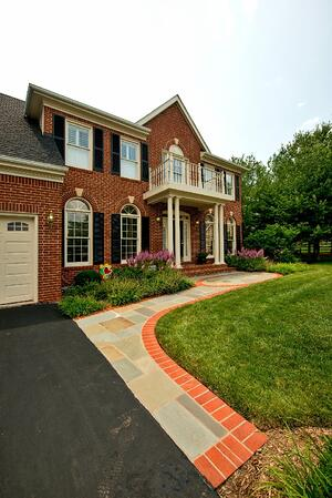 Front landscaping design ideas for Ashburn, Aldie, and Leesburg, VA.