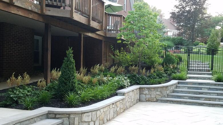 Learn about a recent project featuring landscaping in Great Falls, VA.