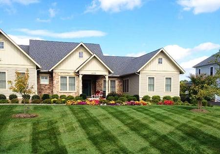 Beautiful lawn in Haymarket, VA