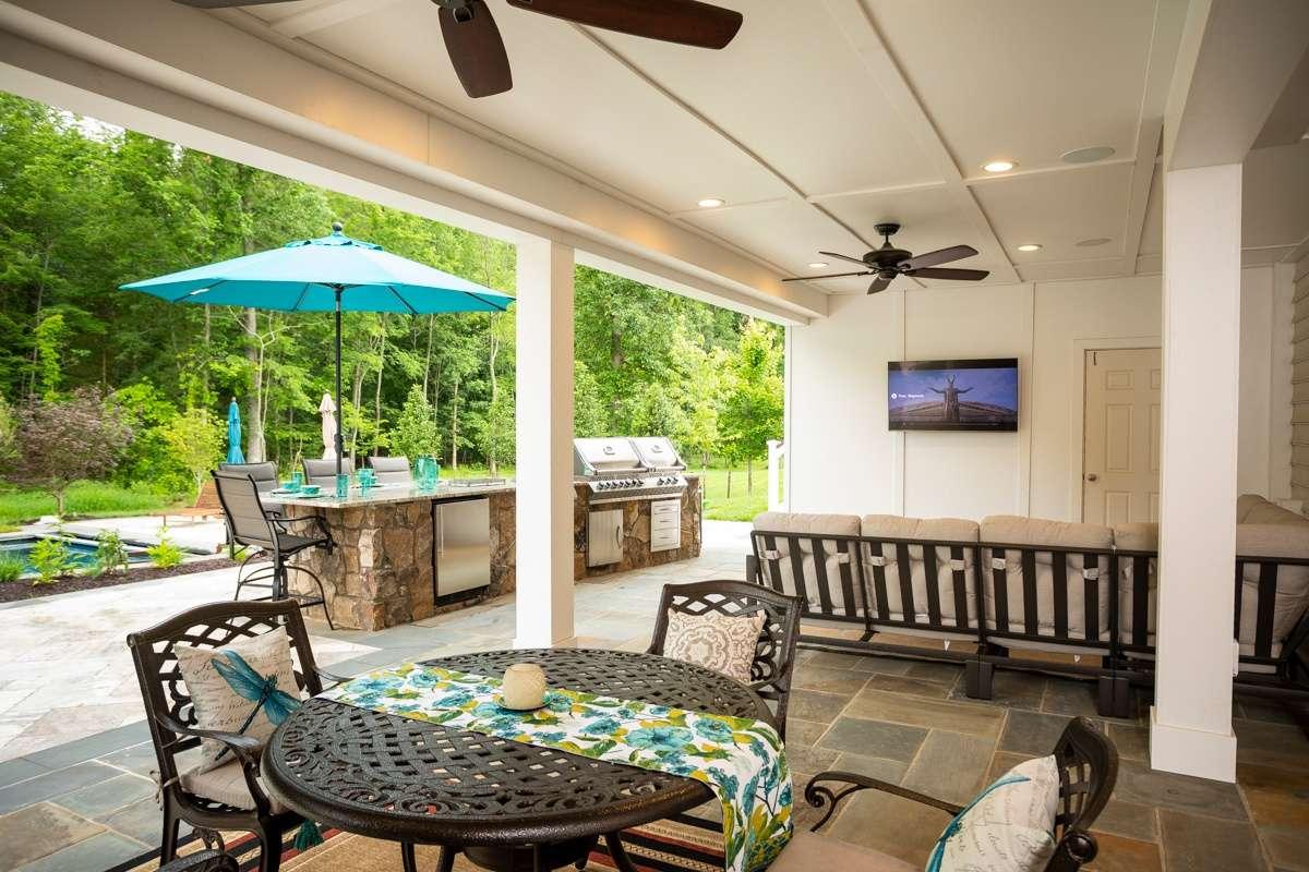 patio outdoor kitchen under deck 6