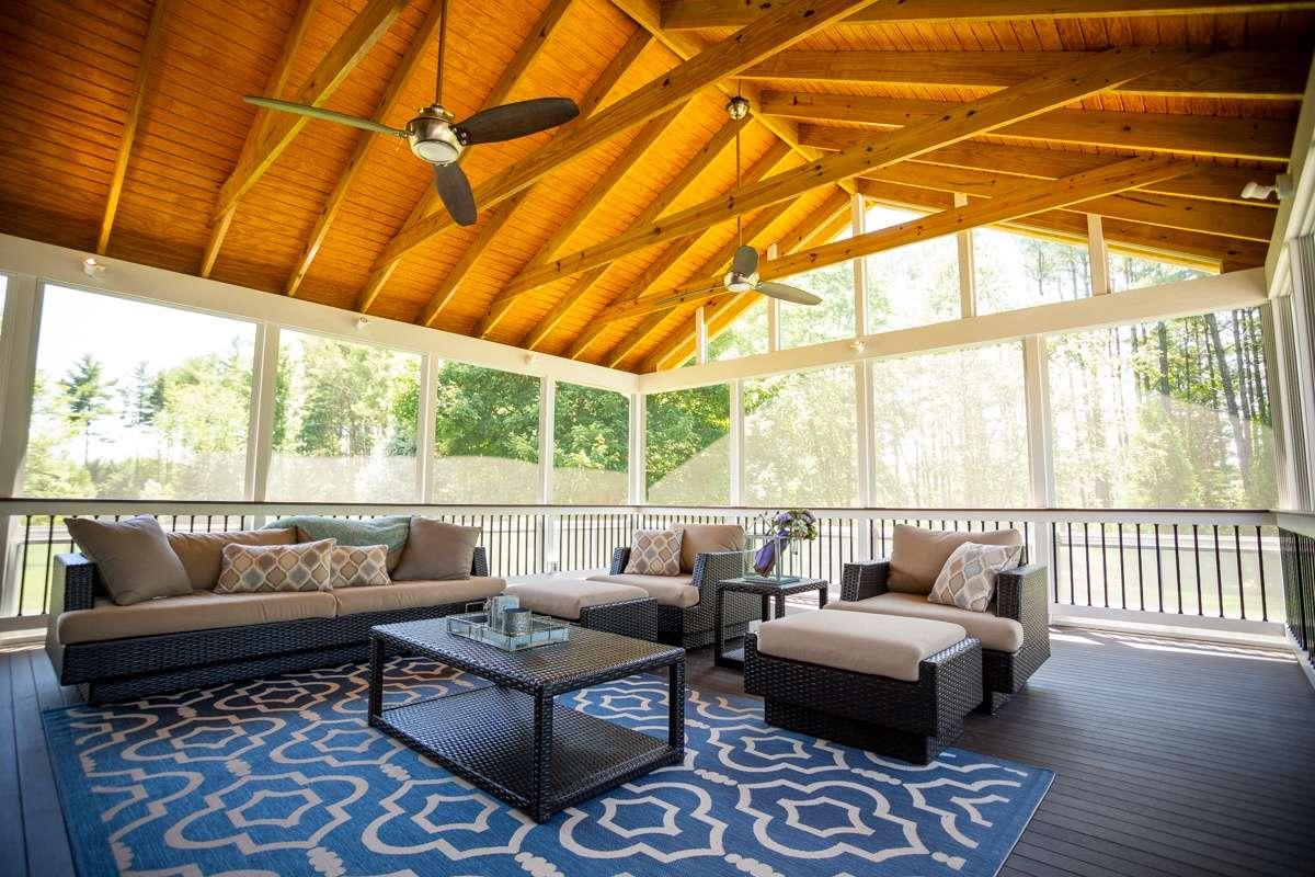 Three-season screened porch Ashburn, VA