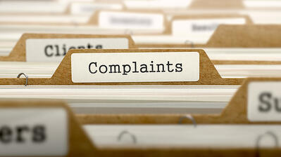 Lawn care company complaints folder
