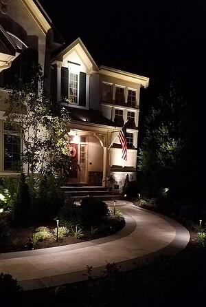 Pro landscape lighting design tips for your home near Ashburn, Aldie, or Leesburg, VA.