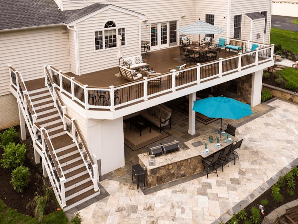Factoring in Deck Cost in Your Backyard Landscape Design: Considerations in Ashburn, Aldie, & Leesburg, VA