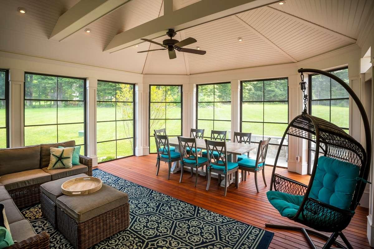deck screened porch windows