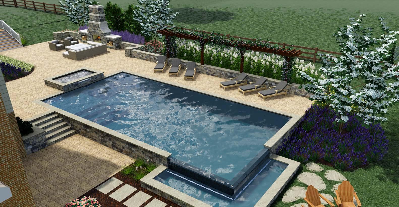 Rock water farm landscaping blog northern virginia for Pool design northern virginia