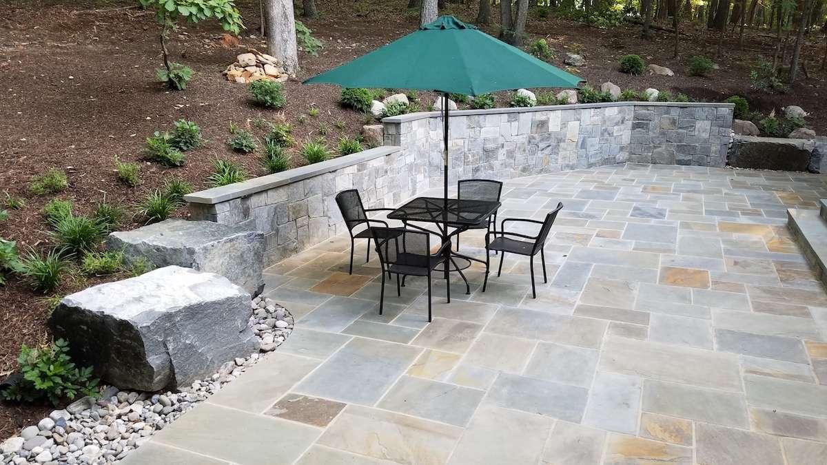 Stone Patio & More: Landscape Design Haymarket, VA Case Study