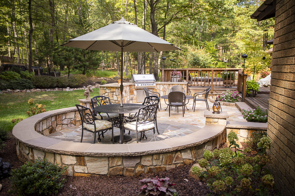 What is a Seat Wall & How to Add Them to Your Patio: Landscape Design Ideas for Great Falls, Ashburn, & Leesburg, VA