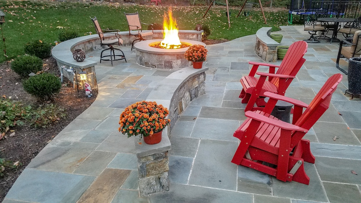 Willowsford, VA Landscaping Case Study: Family-Friendly Patio